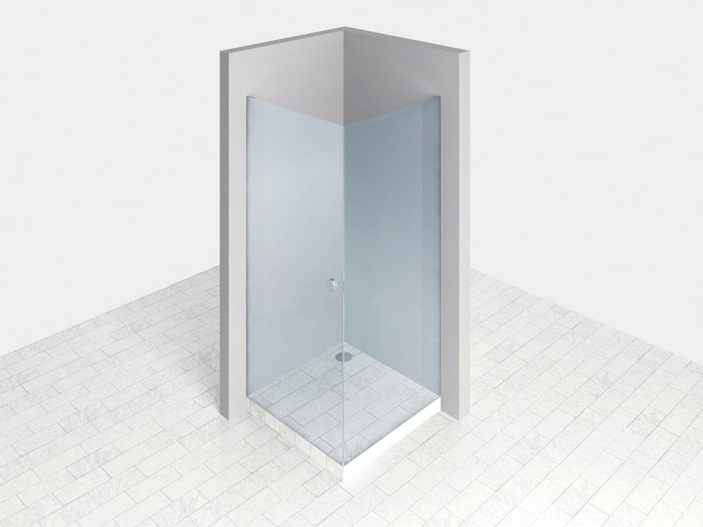 Duschtür für Seitenwand