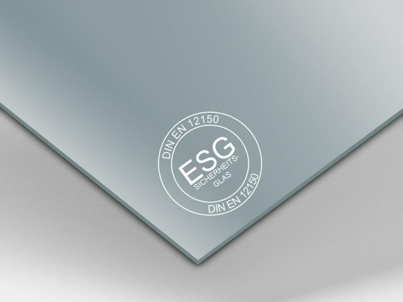 Einscheiben-Sicherheitsglas (ESG)