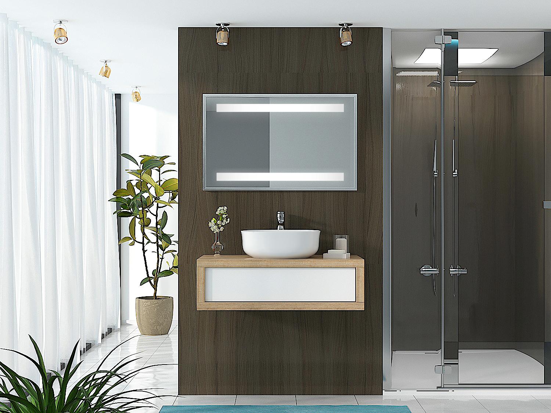Spiegel mit Rahmen - Benka