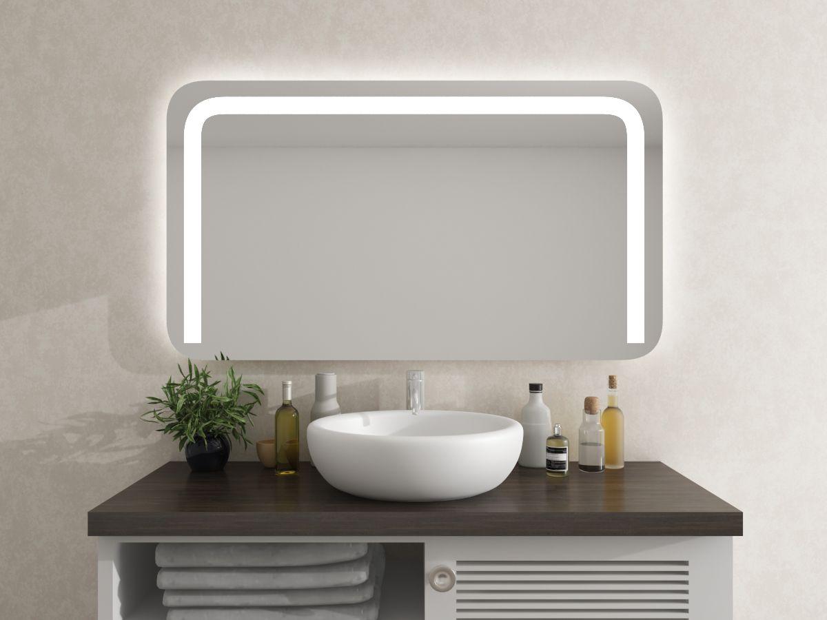 Spiegel mit runden Ecken - Ryker