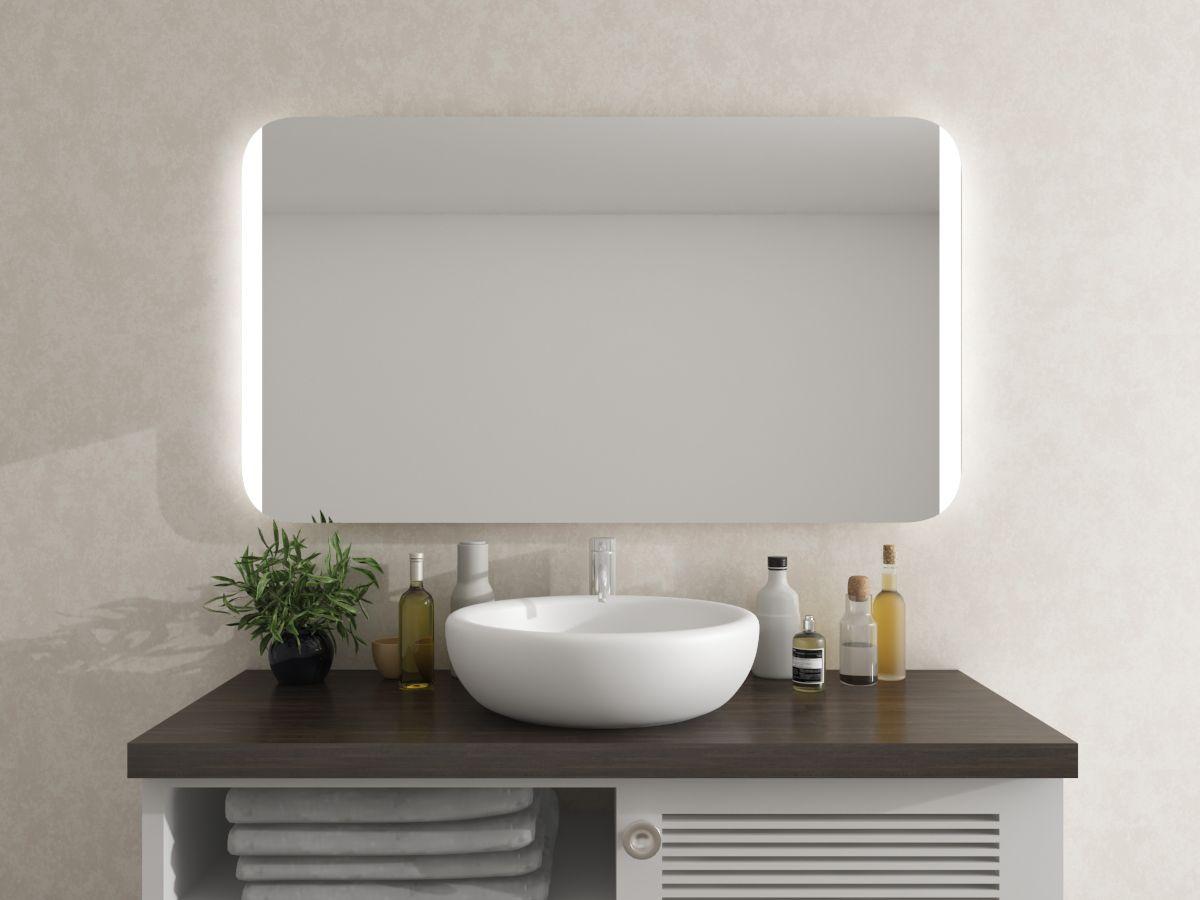 Spiegel mit runden Ecken - Rodma