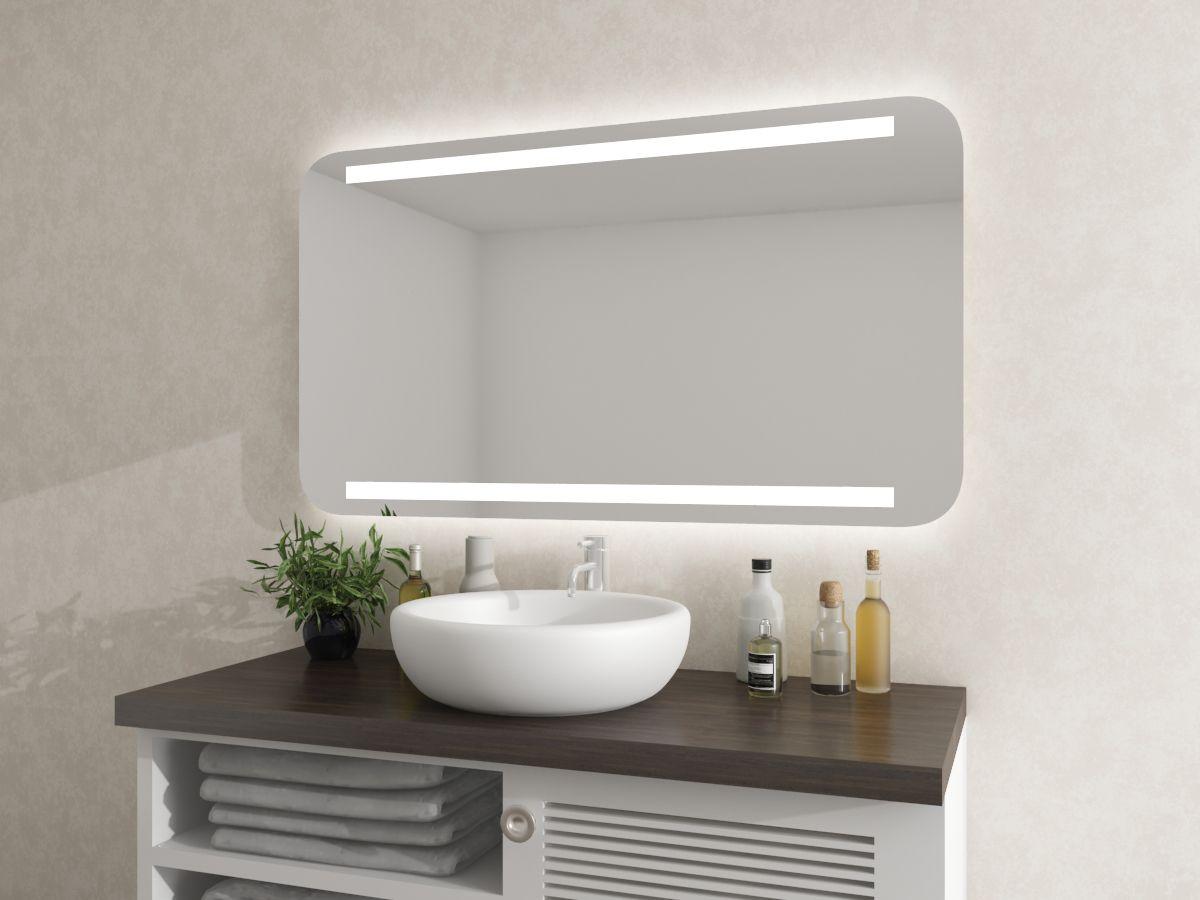 Spiegel mit runden Ecken - Tjorbe