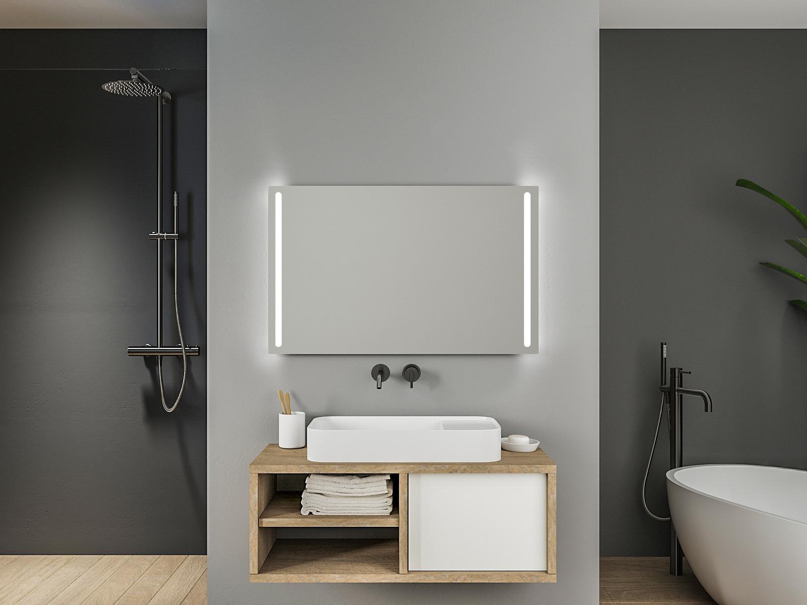 Badspiegel mit LED Beleuchtung - Köln