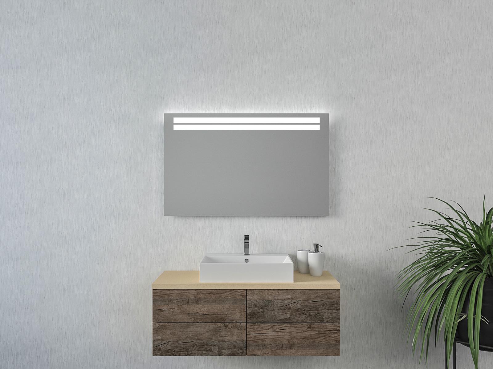 Badspiegel mit LED Beleuchtung - Bitten