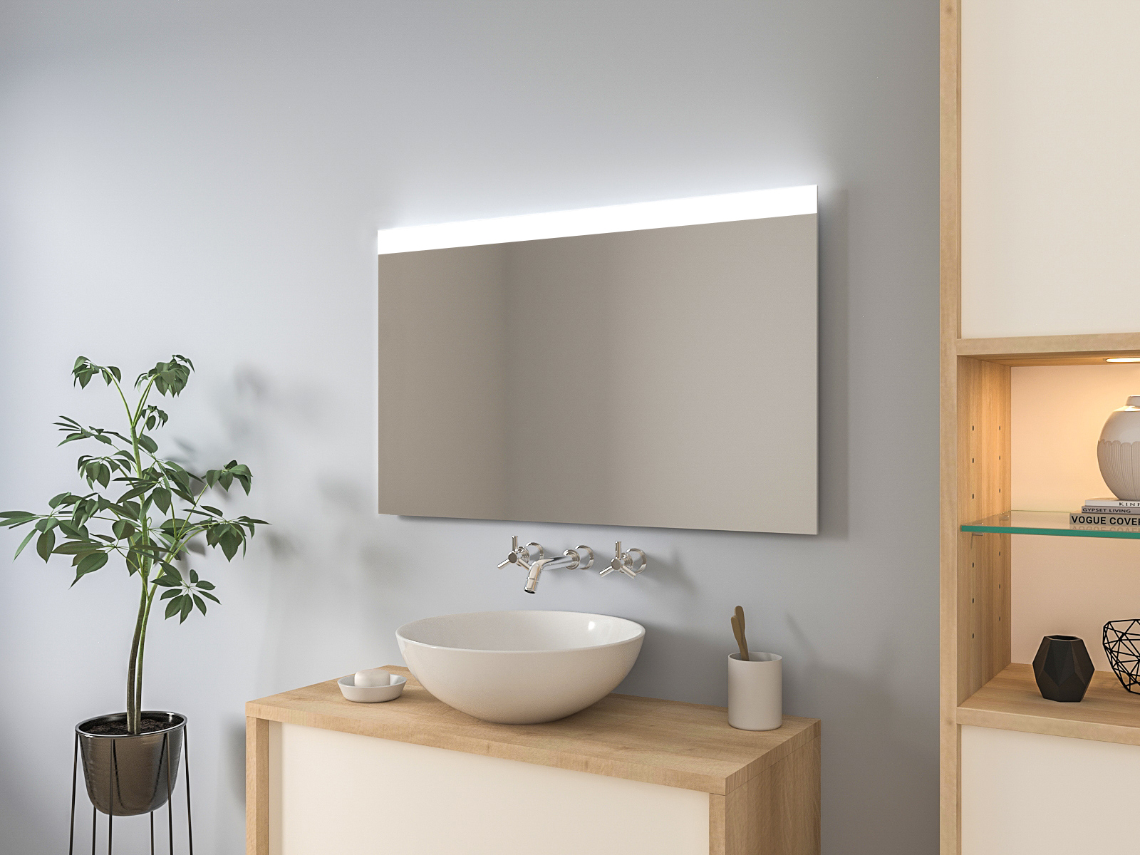Badspiegel mit LED Beleuchtung - Jerik