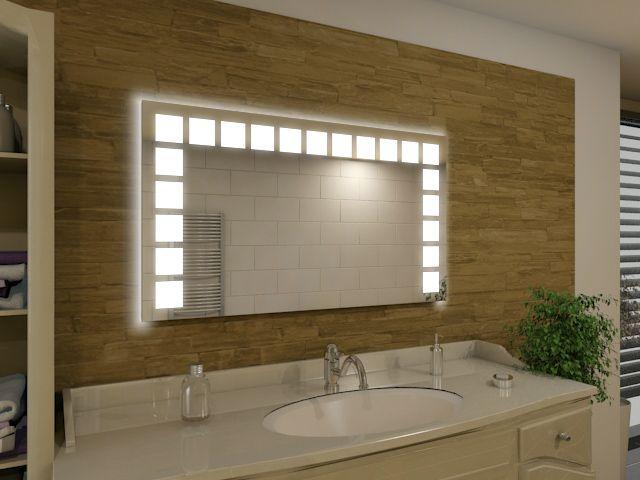 Badspiegel mit LED Beleuchtung - Olea