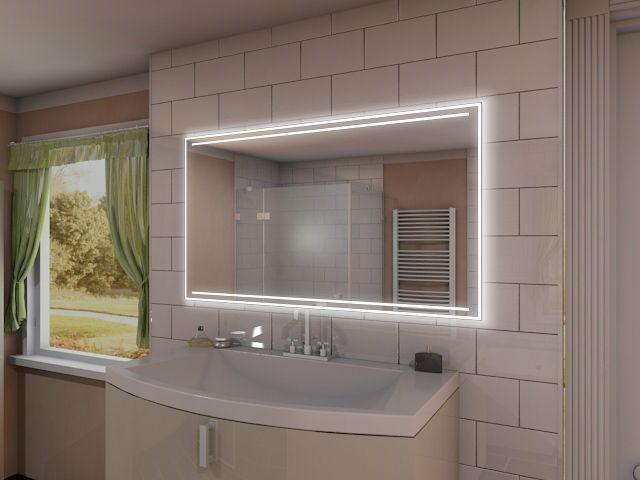 Badspiegel mit LED Beleuchtung - Fria