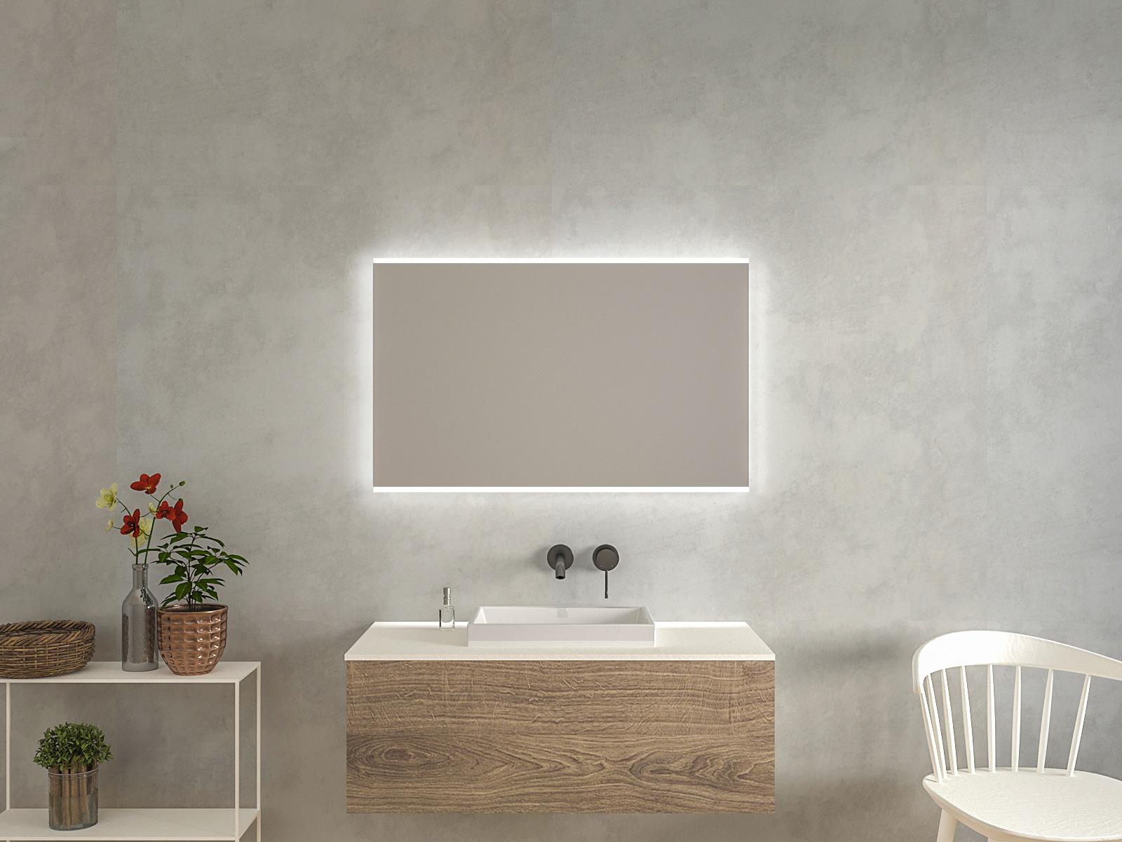 Badspiegel mit LED Beleuchtung - Gunnel