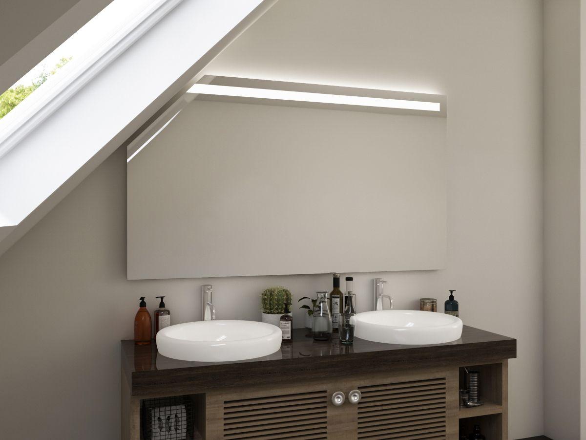 Badezimmerspiegel mit Dachschräge Bjelle