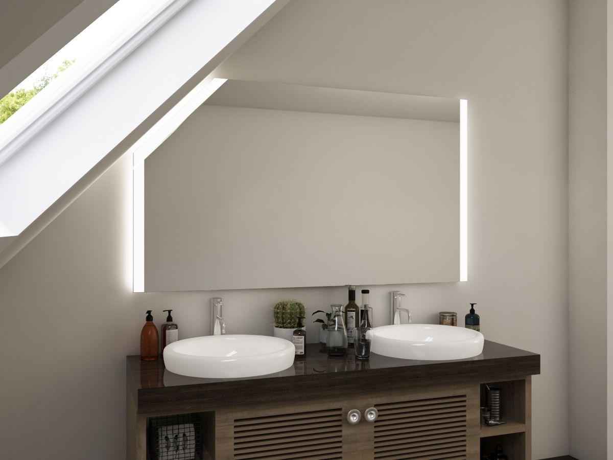 Spiegel in Maßanfertigung mit Dachschräge Oline
