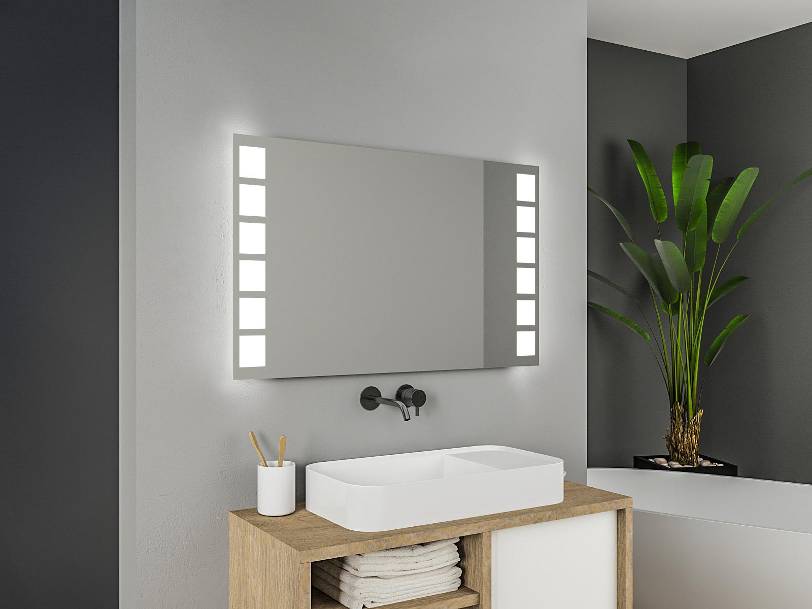 Badspiegel mit LED Beleuchtung - Sophia