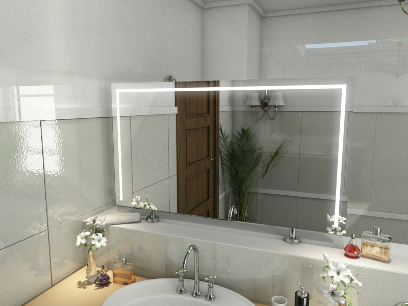 Spiegel Raumteiler Ava