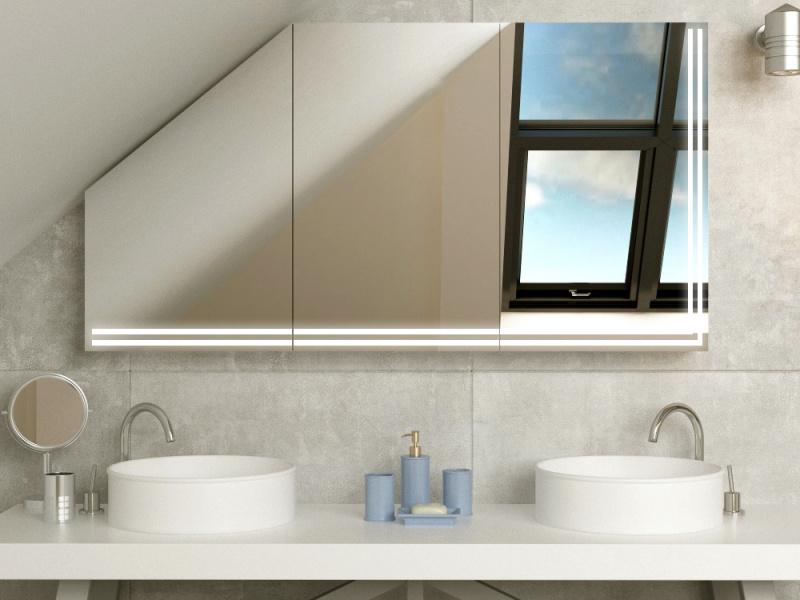 Bild Spiegelschrank für Dachschräge Buskerud