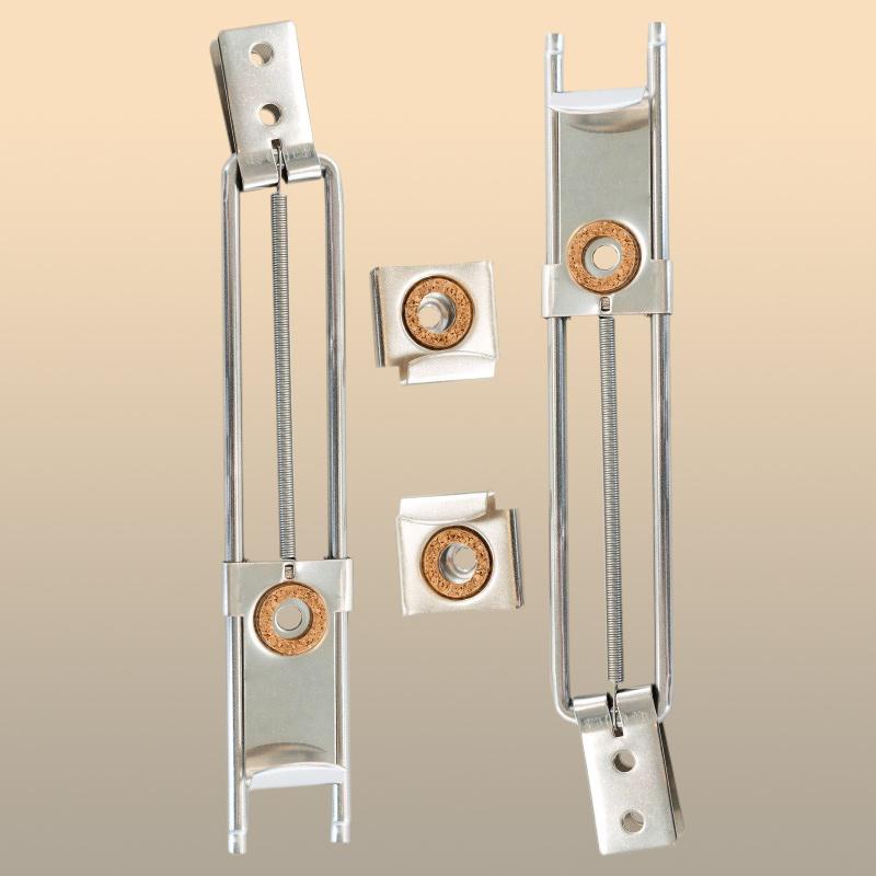 Bild Kippspiegelhalter Paar (Neigung bis 35 °)