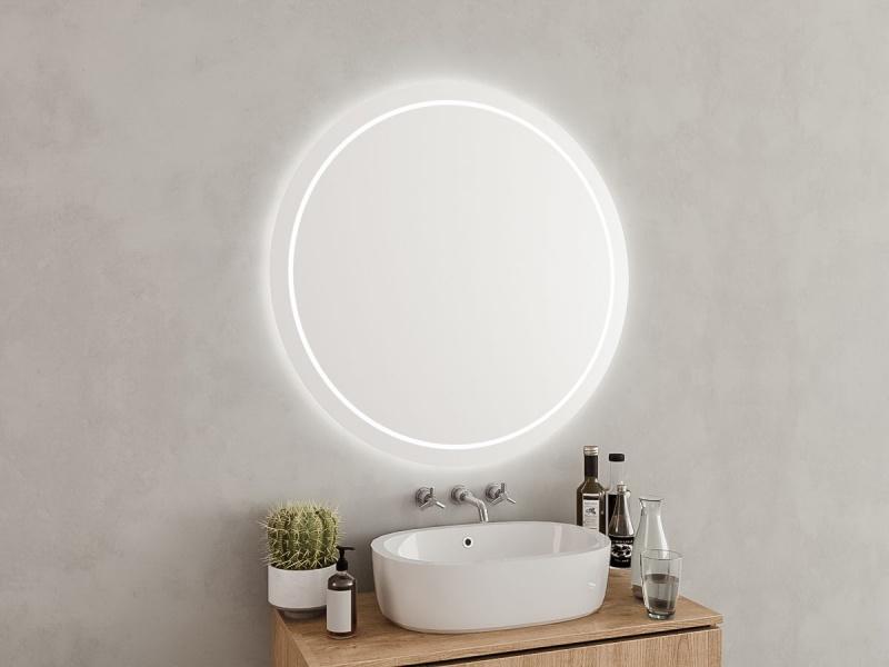 Lichtspiegel rund Claudio