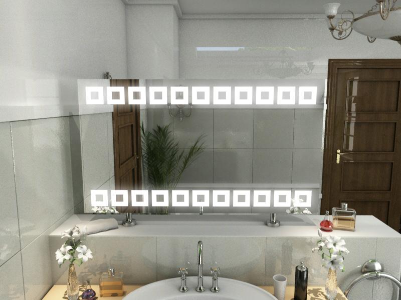 Bild Spiegel Raumteiler Cameron