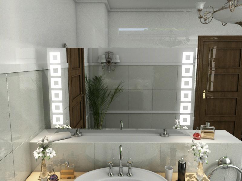 Bild Spiegel Raumteiler Scarlett