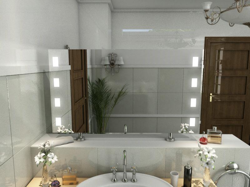 Bild Spiegel Raumteiler Catherine