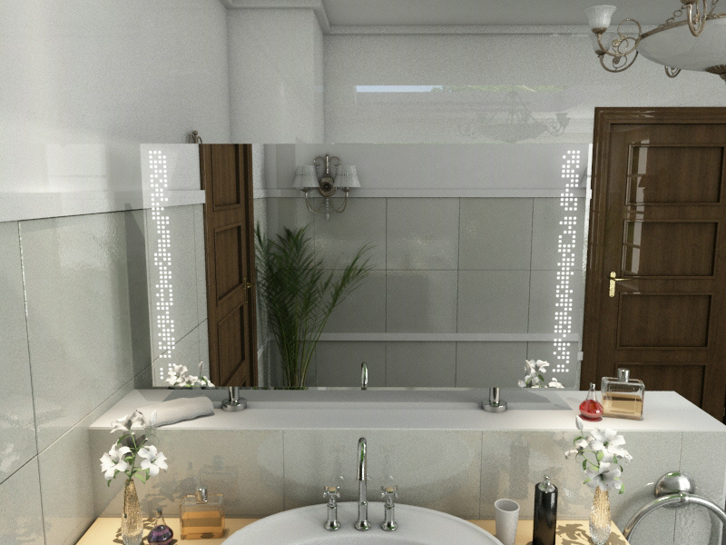 Bild Spiegel Raumteiler Charlize