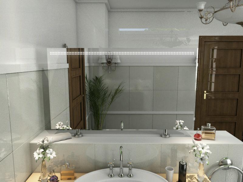 Bild Spiegel Raumteiler Meryl