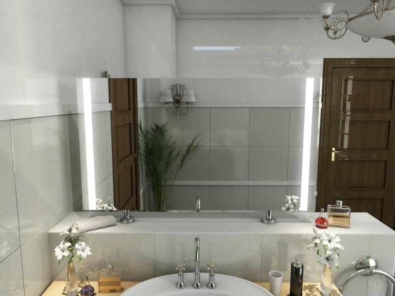 Bild Spiegel Raumteiler Penelope