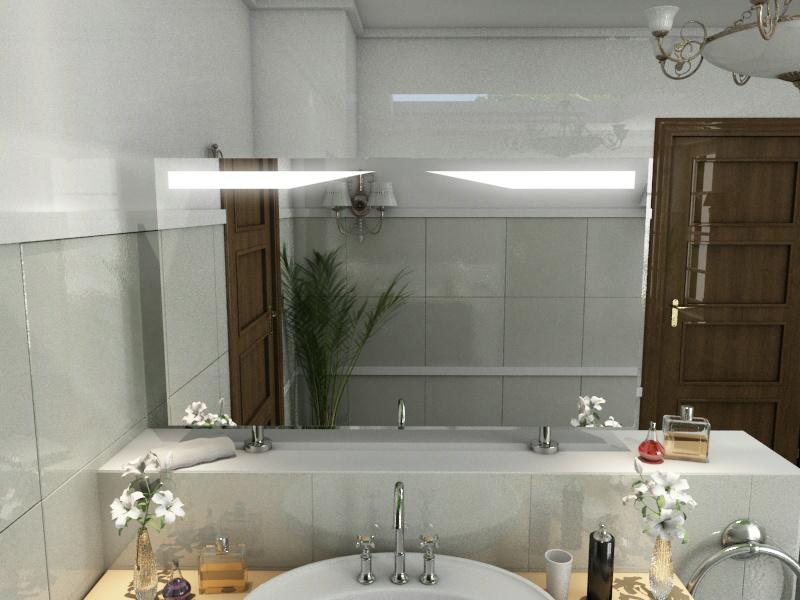 Bild Spiegel Raumteiler Edward
