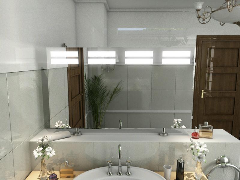 Bild Spiegel Raumteiler Lina