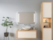 Spiegel beleuchtet Toke