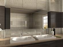 Spiegelschrank Badezimmer mit Licht Halmstad