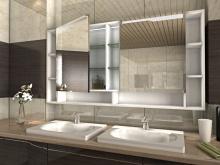 Badzimmer Spiegelschrank mit Beleuchtung Helsinki