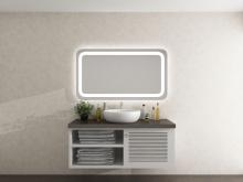 Lichtspiegel mit runden Ecken Nattfari