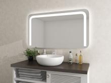 Spiegel Ryker beleuchtet mit runden Ecken