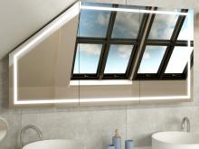 Spiegelschrank fürs Bad mit Schräge Bryne