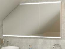 Bad Spiegelschrank LED für Dachschräge Hedmar