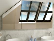 Spiegelschrank nach Maß für Dachschräge Sundsvall