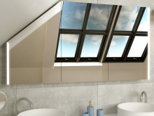Spiegelschrank für Dachschräge Viborg