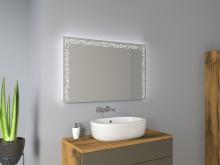 Spiegel mit Licht Birge