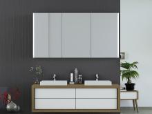 Spiegelschrank Arik mit Designprofilen