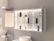 LED Bad Spiegelschrank Leuchtprofil Thure