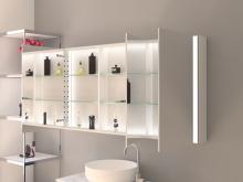 Designer Spiegelschrank Direktbeleuchtung Arvid