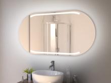 Spiegel Bad mit Rundung Namsos