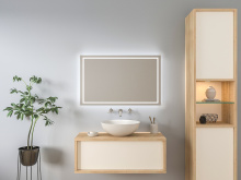 Badezimmer Wandspiegel LED Frigga