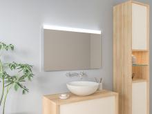 LED beleuchteter Wandspiegel Jerik