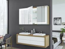 Badezimmerspiegelschrank Lahti
