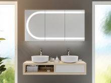 Design Spiegelschrank Harstad
