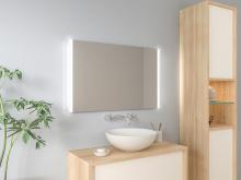 Badspiegel mit LED Beleuchtung - Tjara