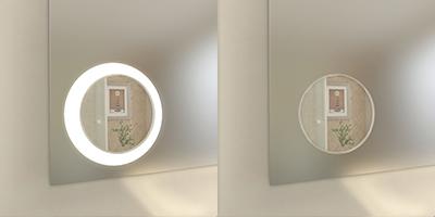 led badspiegel hope nach ma f r bad wohnraum und gewerbe. Black Bedroom Furniture Sets. Home Design Ideas